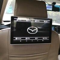 1920 дюймов Android DVD мониторы 1280x11,8 HD цифровой ЖК дисплей экран подголовник автомобиля видео плеер для Mazda 5 сзади развлечения системы