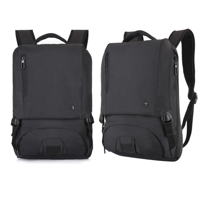 24c3ea429d91 Мужской рюкзак USB зарядка Регулируемая емкость ноутбук рюкзаки для  подростка модный мужской Mochila бизнес рюкзак анти