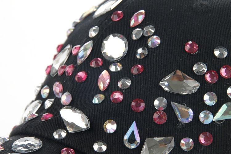 Высокое качество оптом и в розницу JoyMay шляпа Кепки Мода Досуг Стразы хлопковые цветные детские носки кепки в горошек летние Бейсбол Кепки B226