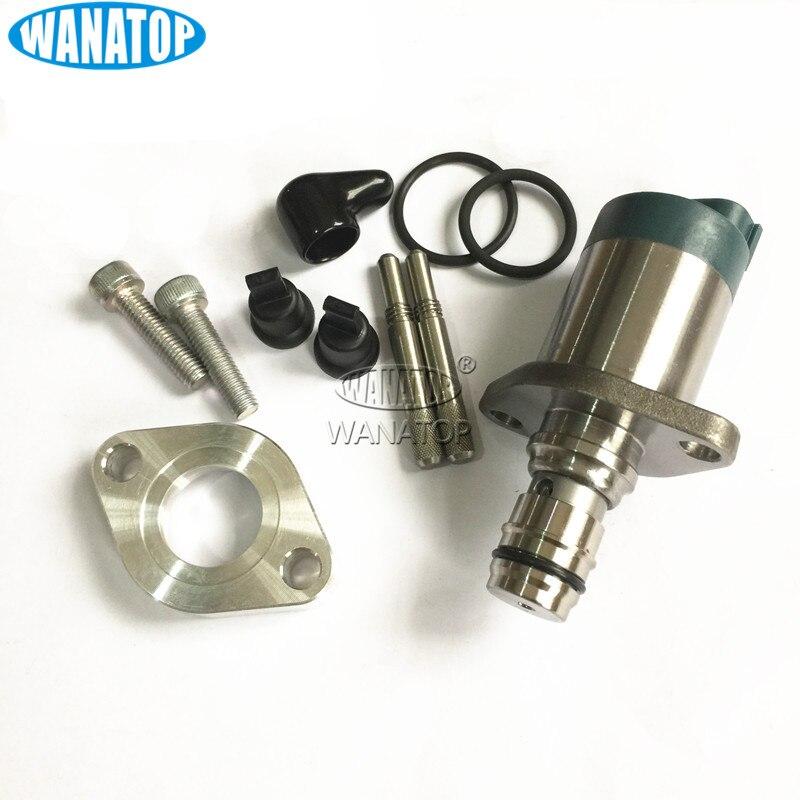 SCV 8981454550 Fuel Pump Suction Control Valve 294009-0740 294200-2760 98145453 For MITSUBISHI L200 DI-D 2.5 DT TRITON UTE diesel suction control valve 8 98043687 0 scv 294200 0650 for mazda