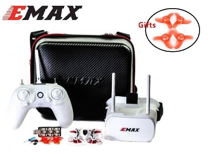Emax Tinyhawk 75mm F4 Magnum Mini 5,8G Indoor FPV Racing Drohne Mit Kamera RC Drone 2 ~ 3S RTF Version mit 2 paar requisiten für geschenk-in Teile & Zubehör aus Spielzeug und Hobbys bei AliExpress - 11.11_Doppel-11Tag der Singles 1