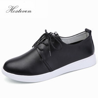 Women Flats Spring Lace Up Bling Platform Flat Loafers Solid Casual Shoes Woman For Spring Autumn