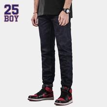 25BOY MAGNA Selvedge Denims Trendy Streetwear Simple jeans