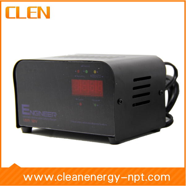 цена на 12V 600mA Battery Charger Negative Pulse Desulfation Charger Lead Acid Battery Charger