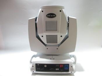 Boîtier blanc 230 W faisceau 7r lumière principale mobile gobo boîtier blanc tête mobile dj lumières