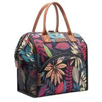 Print Canvas Lunch Bag Fashion Cooler Lunch Box Outdoor Picnic Canvas Large Capacity Handbag Portable Food Picnic Lunch Bags #20