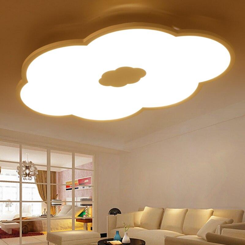 US $188.1 5% OFF|Schuppige wolken Führte ultradünne deckenleuchte moderne  einfache wolke lampe kinderzimmer kreative wohnzimmer studie licht ZL187-in  ...