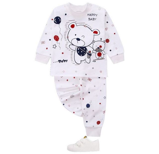 46f8de243 Autumn Winter Newborn Baby Boy Clothes Set Long Sleeve Infant Baby ...