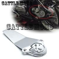 Motorcycle Chrome Skull Drive Shaft Cover For Yamaha V Star V Star 650 1998 2015 V Star 1100 1999 2010 2011 2012 Classic Custom