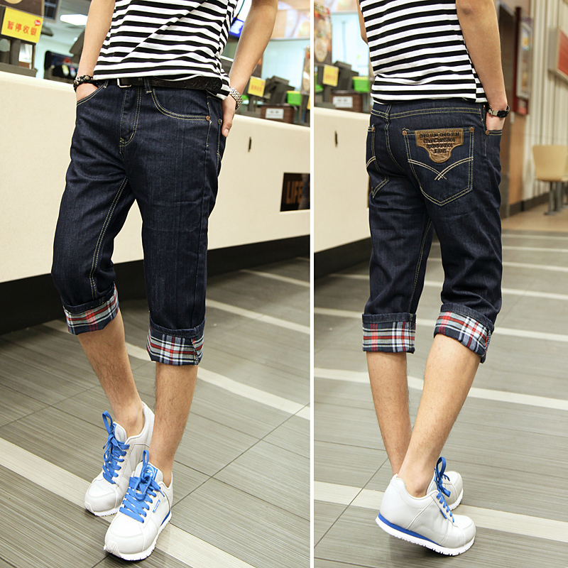 Compare Prices on Mens Denim Capri Shorts- Online Shopping/Buy Low ...