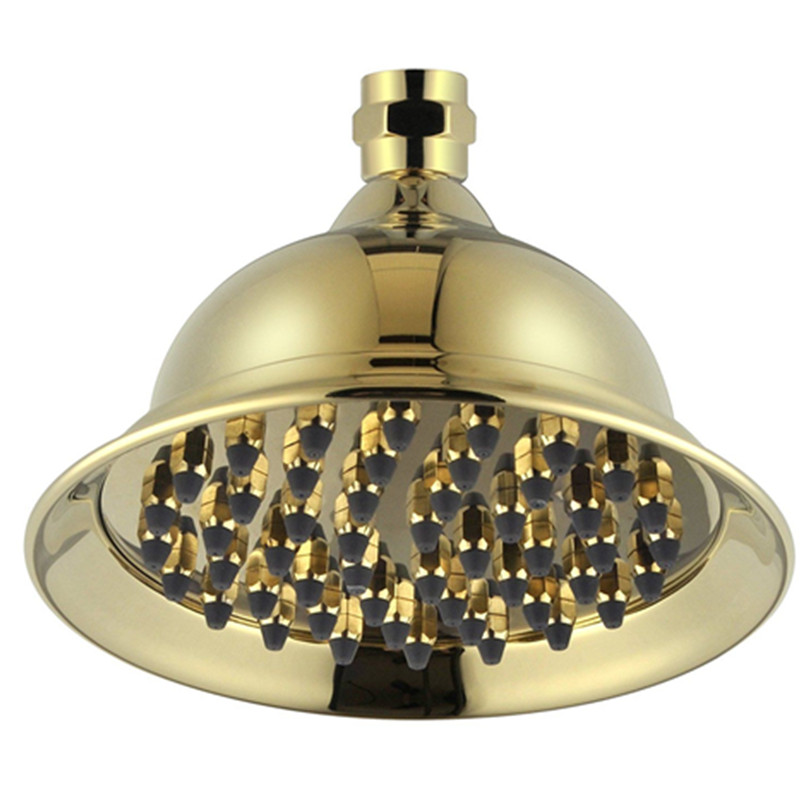 Homedec Homedec Antique Wall mounted 8Brass PVD GOLD plated Bathroom bath over head shower head HD-015Homedec Homedec Antique Wall mounted 8Brass PVD GOLD plated Bathroom bath over head shower head HD-015