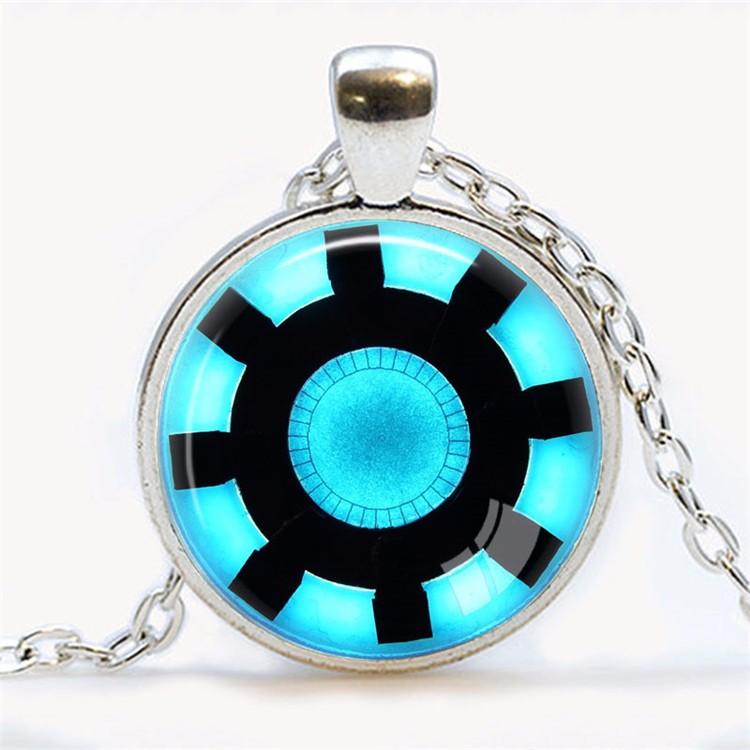 Awesome Iron Man Arc Reactor Necklace