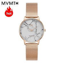 MVMT watch |  simple vintage Marble dial watch beige watch strap fashion waterproof quartz 38mmdw