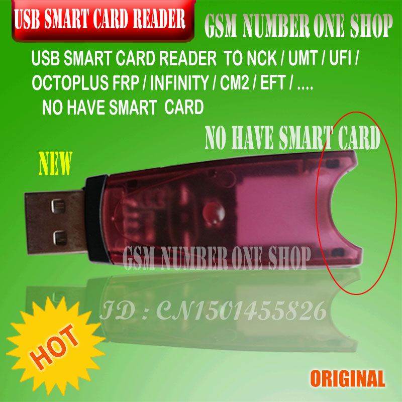Original High Speed Smart Card Dongle  For EFT, CM2, Infinity Cm2 ,OCTOPLUS FRP, Ufi ,UMT , NCK PRO 2 , Nck ,Dongle Card Reader