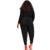 2016 Profunda V Cuello Más El Tamaño de Los Mamelucos Womens Jumpsuit Sexy Hueco cabo Largo de la Manga Más El Tamaño Elegante Mono Pantalones Largos XXL XXXL