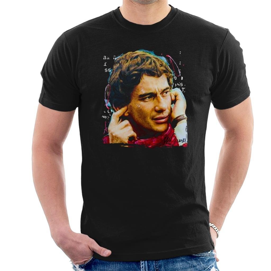 sidney-maurer-portrait-of-ayrton-font-b-senna-b-font-mclaren-1991-t-shirt-o-neck-summer-personality-fashion-men-t-shirts