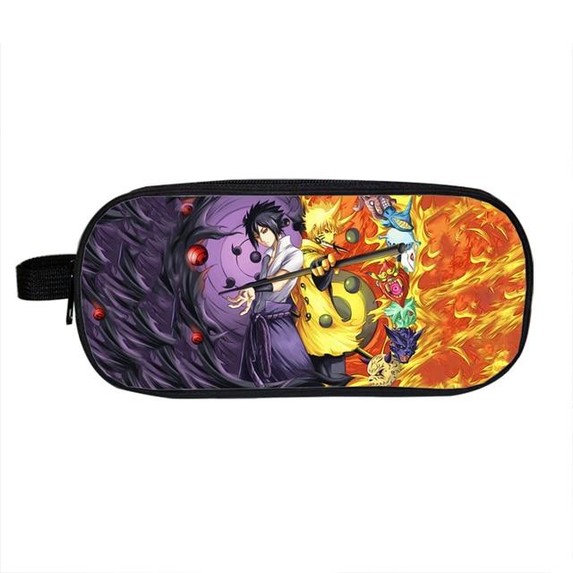 Anime One Piece Naruto Fairy Tail Pencil Case
