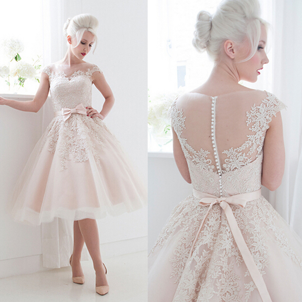 Light Pink Wedding Gown: Popular Light Pink Wedding Dress-Buy Cheap Light Pink