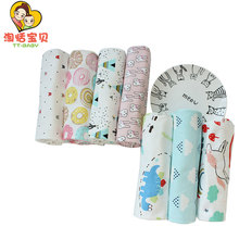 Bath Towels For Newborn Baby Blanket Cotton Muslin Swaddling Soft Multifunction Wrap Cloth Girl Boys Infant Bedding 95*78 Cm