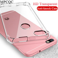 Clear TPU Phone Cover Case for Huawei On Honor 8X 7X 6X 5X 5A 6A 7A Pro 8A 5C 7C 8C V20 Case Soft Silicone Shockproof Anti-Knock(China)