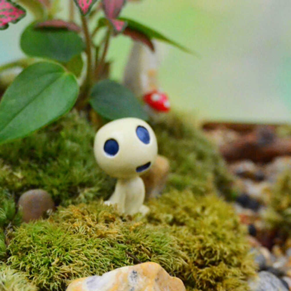 樹脂ミニエイリアンツリーの妖精宮崎駿トトロモデルフィギュアマイクロ風景庭テラリウム装飾ミニチュア装飾品