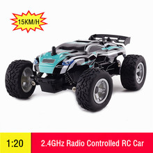 1/20 2WD RC Car 2.4GHz Radio Controlled Toys Electric High Speed Racing Buggy RTR Vehicle Machine for Kids Boy Birthday Gift