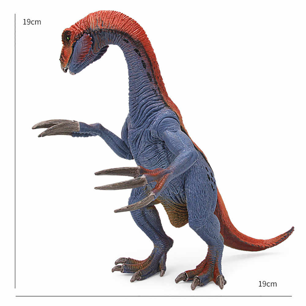 Dinosaur Model Toys Multicolor Educational Toys for Children Therizinosaurus Model Cartoon Toy Best For Kids Children  F415