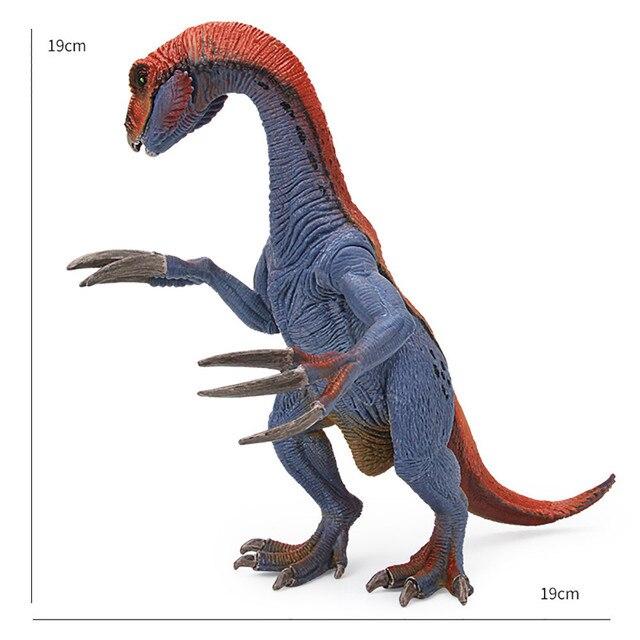 Modelo de dinossauro Brinquedos Multicolor Brinquedos Educativos para Crianças Modelo Brinquedo Melhor Para Crianças dos miúdos Dos Desenhos Animados F415 Therizinosaurus