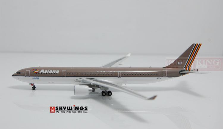 Phoenix 10700 A330-300 HL7746 1:400* commercial jetliners Asiana Airlines plane model hobby цена и фото