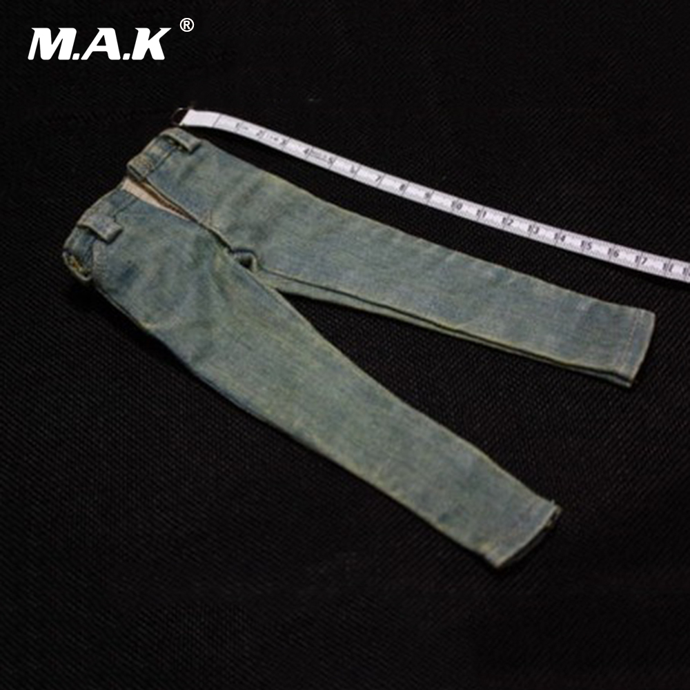 1/6 Male Retro Blue Jeans 12 Male Action Figure Accessories for Phicen Man Toys New