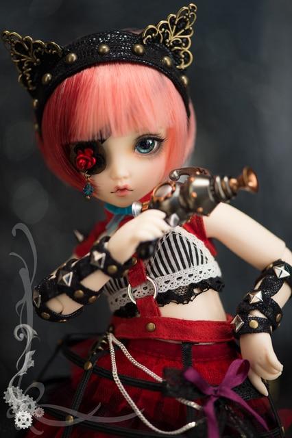 AQK(AQK)BJD 1/6  Mio resin doll    spot  (free send a pair of eyes) 4