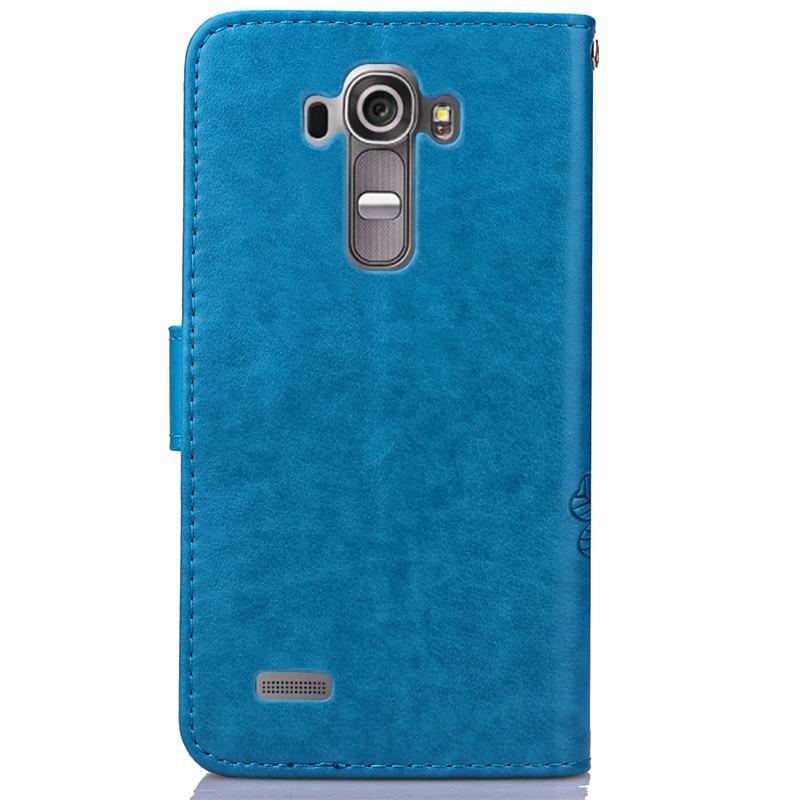 Untuk LG G4 LGG4 Dompet Kulit Balik Kasus Pencetakan Back Cover Untuk - Aksesori dan suku cadang ponsel - Foto 5