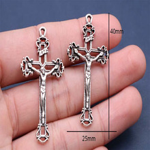 Catholic Charm Craft Christ Cross Religious of Jesus 100pieces