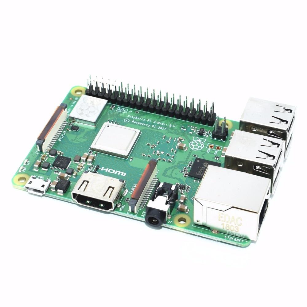2018 new original Raspberry Pi 3 Model B+ (plug) Built-in Broadcom 1.4GHz quad-core 64 bit processor Wifi Bluetooth and USB Port