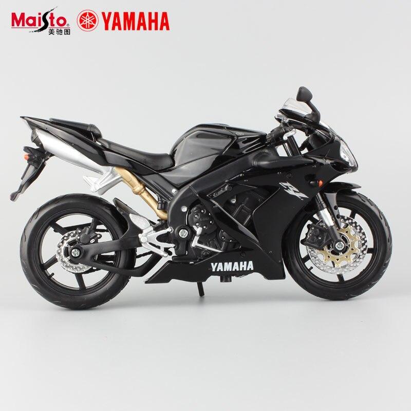 1:12 marque nouveaux enfants mini Yamaha Supercross YZF R1 en métal moulé sous pression modèles moteur vélo moto voiture de course alliage en métal jouets