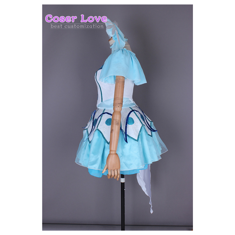 WATER BLUE NEW WORLD Takami Chika Cosplay Carnaval Costume Halloween Christmas Costume