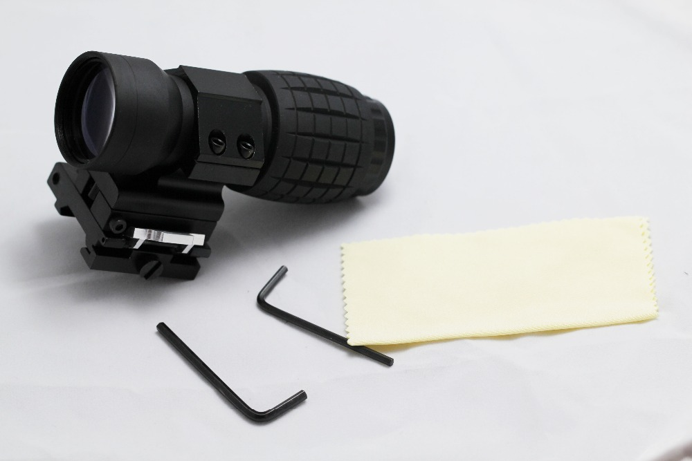 New 3x Magnifier FTS Flip to Side Fit to Eotech Aimpoint & Similar Scopes Sights topperr 1133 fts 6e