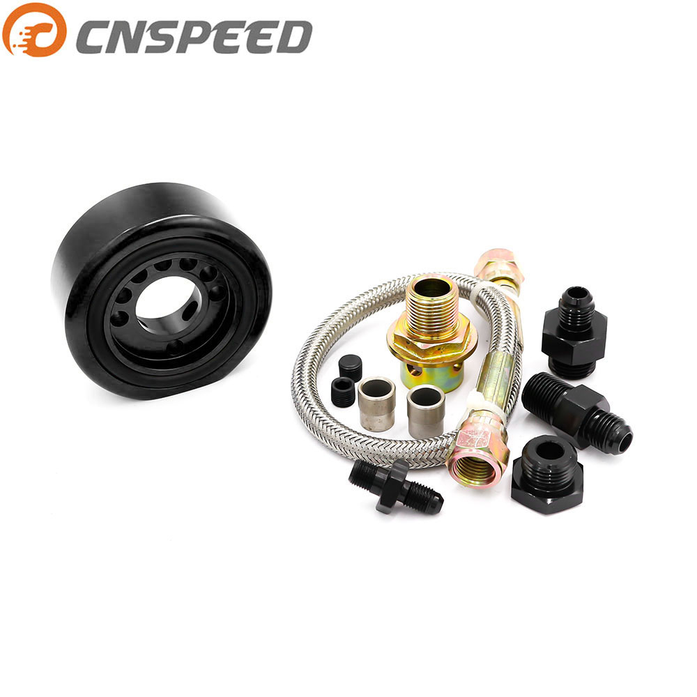 CNSPEED Vtec Oil Supply Adapter Conversion Kit For Acura