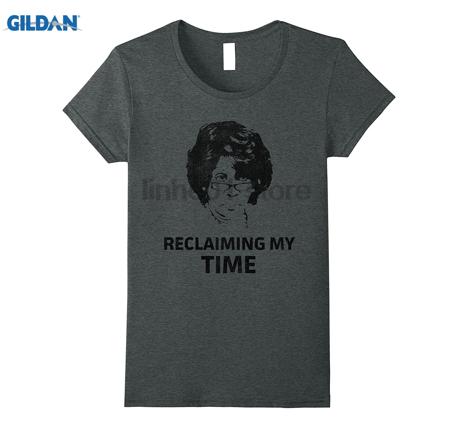 GILDAN Distressed Reclaiming My Time Auntie Waters T shirt dress T-shirt