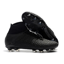 the best attitude b8331 24ac8 Newst barato MLLZF de tobillo de los hombres al aire libre zapatillas de  fútbol Hypervenom Phantom III DF FG, zapatos de fútbol .