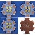 6 V / 12 V Cree XP-E2 XPE2 4 Chips de LED emissor em 20 mm Copper PCB