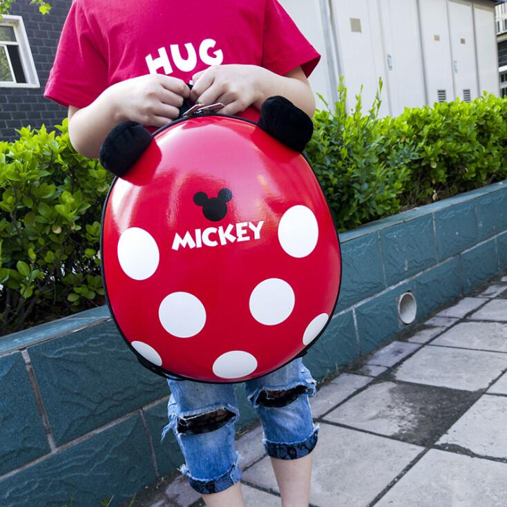 Hot Sale Mickey School Bag Children Boys Backpacks Kindergarten Mickey Backpack For Girls Kid Cartoon School Bag For Kids