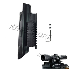 Hunting Tactical AK Receiver Cover w Tri Rail Mounting System for AK 47 for flashlight Laser