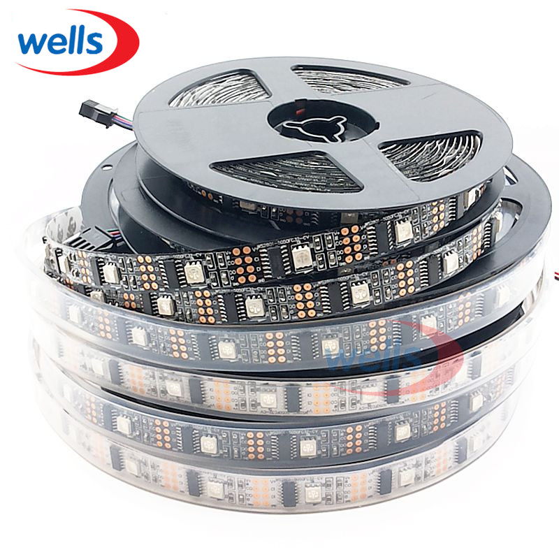 3M WS2801 Waterdichte IP67 LED-strip 32 LED's / M RGB Individueel - LED-Verlichting