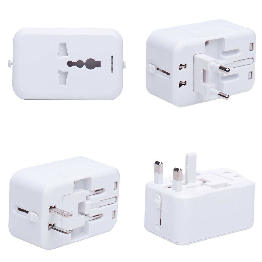 Universal Charger Adapter Plug All in 1 World Travel AC Power Adapter Converter to US/UK/EU/AU Plug Socket all in 1 charger