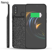 Neng Silicone Battery Charger Case For Huawei Honor 8X Silm Power Bank Case Charging Back Cover External Power Pack Cases