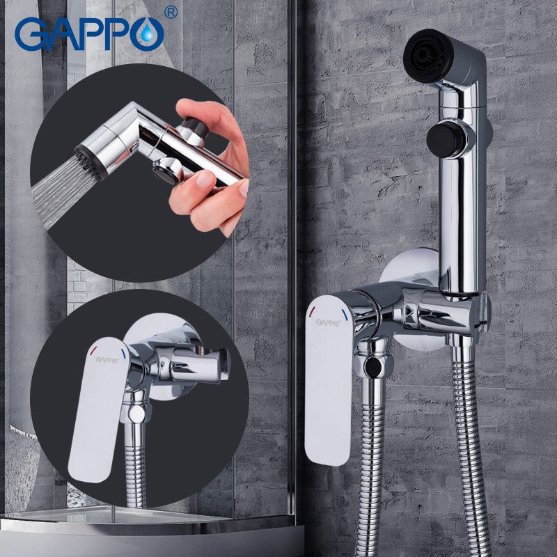 GAPPO Bidets handheld shower bidet faucet spray shower head muslim shower toilet wall mount bidet tap mixer цена