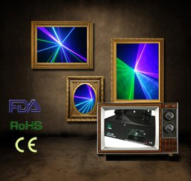 Wholesale ! Green+Violet Mixed Blue Laser Light DMX SOUND AUTO (CTL-GVW)---Free Shipping