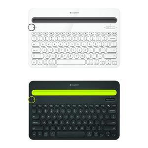 Image 1 - ロジクール K480 マルチデバイスの Bluetooth キーボード携帯電話パッドホルダーミニキーボード MacOS iOS Android 携帯パッド