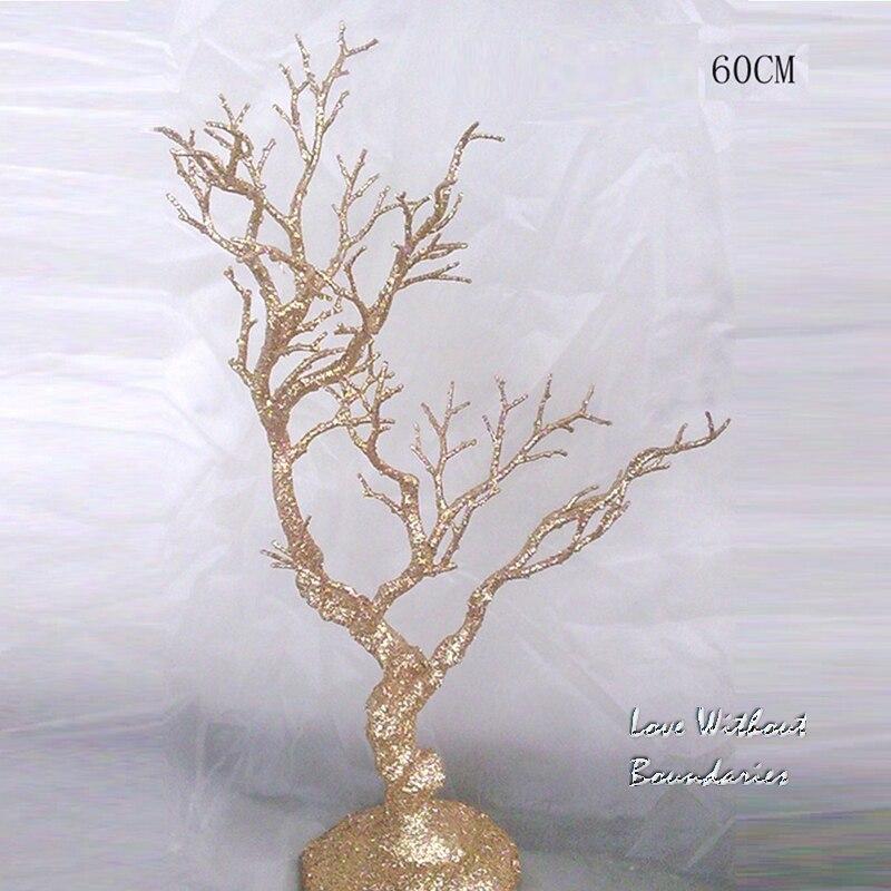 L'albero di simulazione 60 cm di altezza, Stem ramo, tronco, resina di protezione ambientale, 3 colori possono scegliere